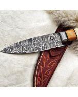 Cuchillo Damasco Verijero
